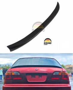Ducktail For Honda Civic Ek 4dr Ej 96 00 Rear Trunk Lip Spoiler Duckbill Mugen