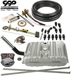 1953 54 Chevy Bel Air Ls Efi Fuel Injection Gas Tank Fi Conversion Kit 30 Ohm