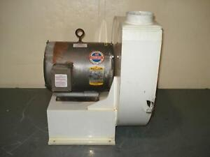 Baldor M3312t 10 Hp Ac Motor With Blower Frame 213t