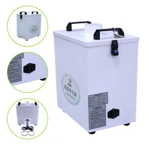 80w Purifier Pure Air Fume Extractor Smoke For Co2 Cnc Laser Engraving Machine