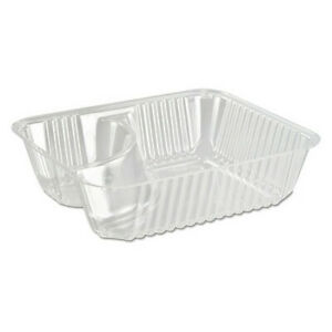 Dart Dcc C56nt2 Clearpac Small Nacho Tray 2 compa pk500