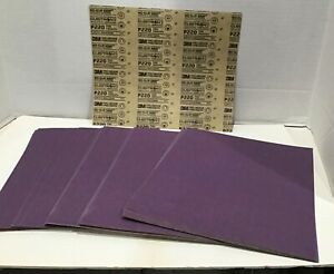 50 Sheets 3m 220 Sand Paper 8 5 X 11 Wet Or Dry Pro Grade Precision P220