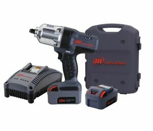 Ingersoll Rand W7150 K2 Cordless1 2 Impact Wrench Two Batteries Case New