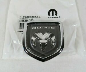 Dodge Stratus Sedan Emblem 01 03 New Oem Front Bumper Badge Sign Symbol Logo