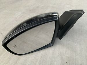 15 16 Ford Focus Driver Side Rear View mirror Assy F1eb 17683 Blind Spot Used