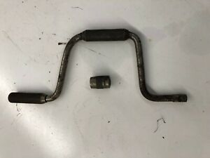 Vintage 20s 30s 40s Snap On Socket Speeder Wrench 1 2 Drive With 5 8 Socket