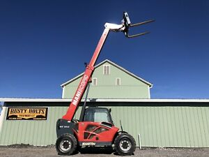 2015 Manitou Mt 5519 Compact Telehandler Forklift Clean Heat Ac Low Cost Ship