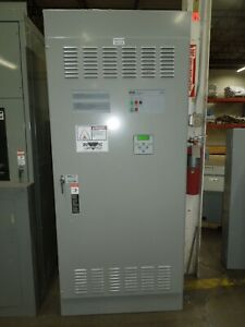 Asco 7000 Series H07atsa31200n5xc Automatic Transfer Switch 1200a 3ph 480v Used
