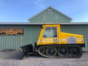Bombardier Sw48da Tracked Snow Plow Machine Enclosed Heat Diesel Cheap Ship
