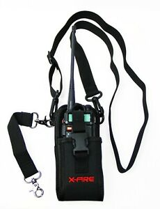 X fire Radio Strap Firefighter Ems Emt Shoulder Holder Duty Holster Belt Combo