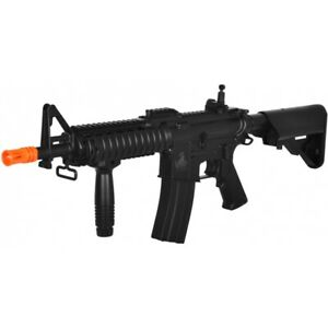 Lancer Tactical Polymer M4 RAS II LT 02C CQBR Airsoft AEG Rifle $129.99