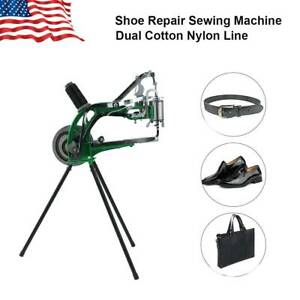Shoe Repair Machine Making Sewing Hand Manual Cotton leather nylon Cobbler Diy