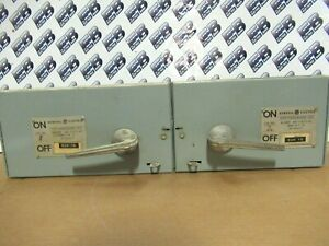 Ge Thfp363r Thfp361r hardware Twin 100 30 Amp 600v Qmr Switch warranty