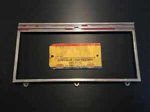 1939 Plymouth Instrument Bezel Face Plate Lens Cover Speedometer P7 P8 Dash