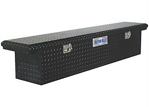 Better Built 73210283 Crown 70 Black Aluminum Crossover Slimline Truck Tool Box