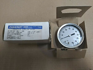 New Ashcroft Industrial Duralife Gauge 1ha38033 012