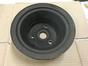Small Block Chevy Crankshaft Triple Groove Pulley Nice 302 327 350 400