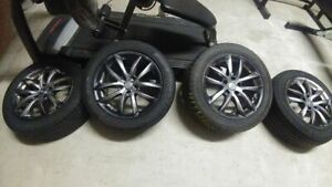 Infiniti 17 Inch Wheels And Tires Great Tires 235 50 r17 5x114 3