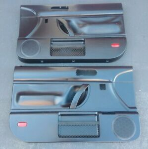 All Black Door Panels 98 10 Vw Beetle Door Panels Hardtop Power Windows
