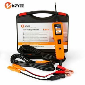 Kzyee Km10 12v 24v Power Probe Super Automotive Car Circuit Tester Powerscan Us