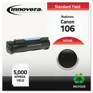 Innovera 106 Remanufactured Black Toner Cartridge 5 000 Page yield New