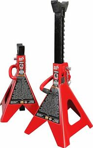 Torin Big Red Steel Jack Stands Double Locking 6 Ton Capacity 1 Pair