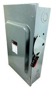 Square D Hu364 200 Amp 600 Volt N fused Disconnect New