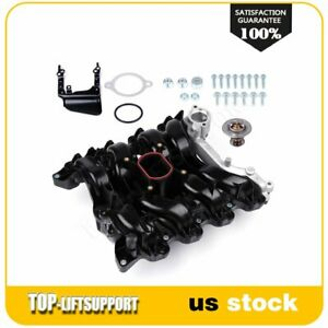 Intake Manifold W Thermostat Gaskets Kit New For Ford Lincoln Mercury