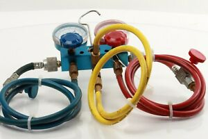 Used 134a Charging Hose Set With Manifold Set