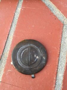 Rare 1937 1938 Chevy Gm Accessory Banjo Steering Wheel Horn Cap Medallion