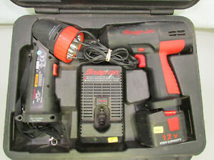 Snap on 3 8 Dr 12v Impact Wrench ct310 ctl918 Xenon Torch Light 120486