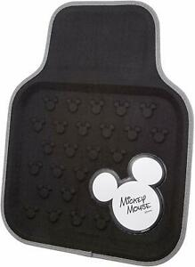Napolex Car Floor Mats Disney Mickey Front Washable For Compact Cars Wd 325