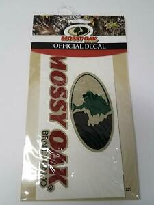 Mossy Oak Window Decal 6x3 Logo Hunting Logo For Truck Car Rv Mde1221 Pack Of 2