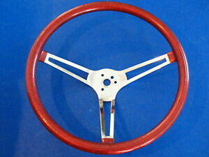 Red Metalflake Steering Wheel 14 3 4 Inch Gasser Rat Rod Hot Rod Low Rider