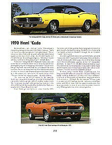 1970 Plymouth 426 Hemi Cuda Article Must See
