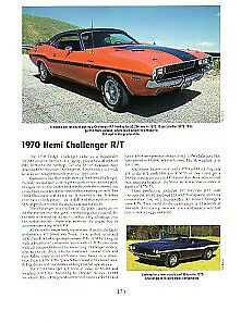 1970 Dodge Challenger R T 426 Hemi Article Must See