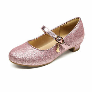 DREAM PAIRS Girls Kids Flat Shoes Casual Dress Shoes Bow Knot Mary Jane Shoes $14.99