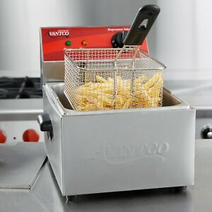 Avantco 10 Lb Electric Countertop Deep Fryer 120v 1750w Commercial Restaurant