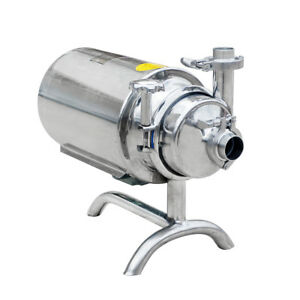 Stainless Steel Sanitary Pump Sanitary Beverage Milk Delivery Pump 3t h 0 75kwus