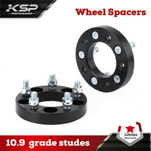 1 25 Wheel Spacers Adapters 5x4 5 Fits Jeep Wrangler Tj Yj Xj Kj Kk Zj Mj