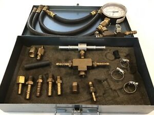 S G Tool Aid Corp Master Fuel Injection Pressure Tester Kit W snap Latch Case