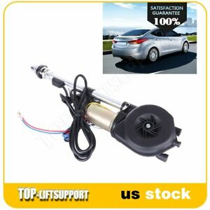 12v Electric Power Antenna Stainless Steel Auto Car Am Fm Radio Mast Aerial Us