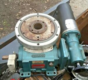 Camco Baldor 4 Stop Rotary Indexing Table W 40 1 Gear Reducer 601rdm4h24 330