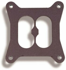 Holley 108 18 Carburetor Base Plate Gasket 4 barrel Divided Square Bore