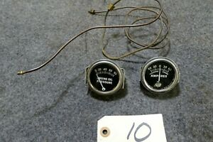 Willys Jeep Wagon Truck Scout Chevy Ford Rat Rod Oil And Amp Gauge