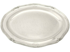 George Iii English Sterling Silver Meat Platter By Paul Storr Width 41 7cm 3795g