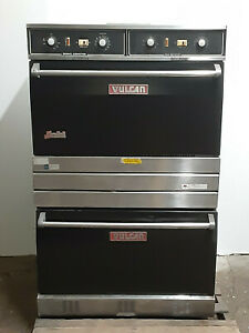 Vulcan Snorkel Natural Gas Ovens Double Stack Nsf Commercial
