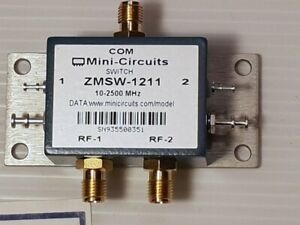 Mini Circuits Zmsw 1211 50w Spdt Pin Diode Reflective 10 To 2500 Mhz