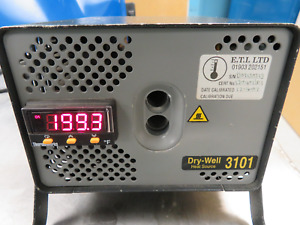 Thermoworks Mdl 3101 Dry well Low temperature Calibrator 0 100c 212f Nt40