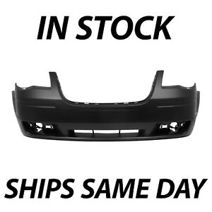 New Primered Front Bumper Fascia For 2008 2010 Chrysler Town Country Van 08 10
